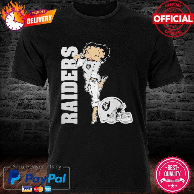 Las Vegas Raiders Betty Boops shirt