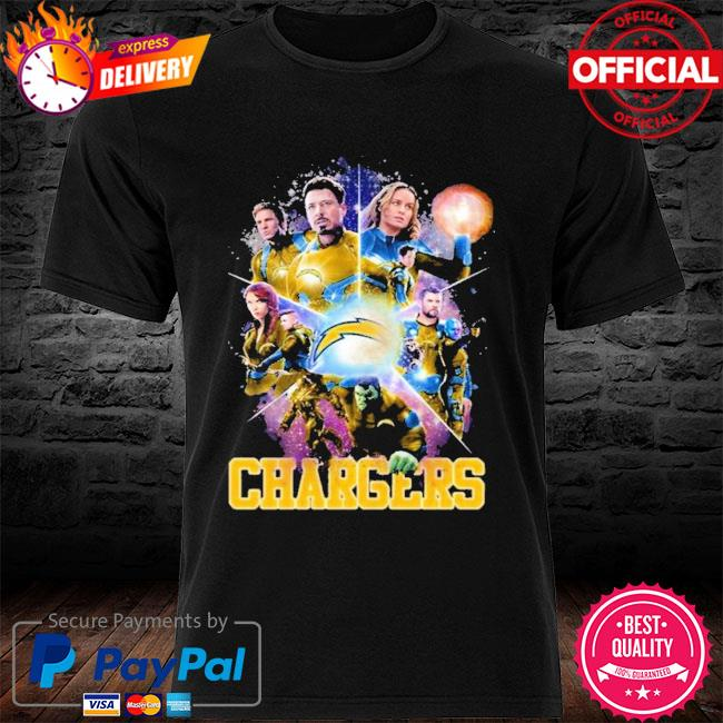 Los Angeles Chargers Avengers Endgame Los Angeles Chargers Shirt