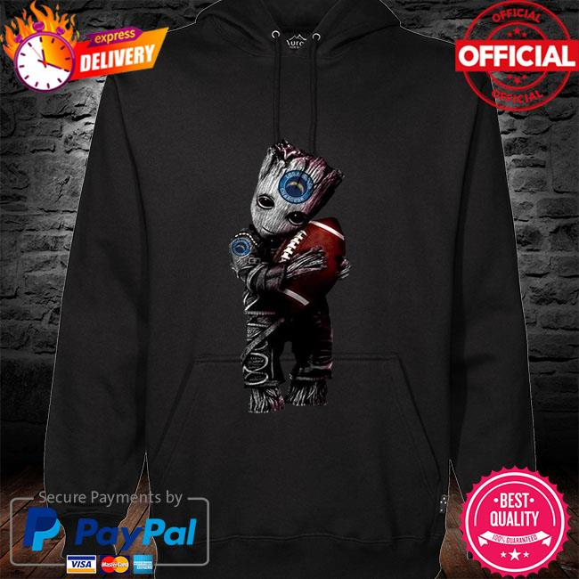 Los Angeles Chargers Baby Groot Loves Los Angeles Chargers Shirt hoodie