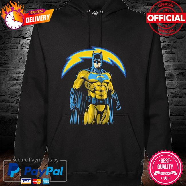 Los Angeles Chargers Batman Dc Marvel Jersey Superhero Avenger hoodie