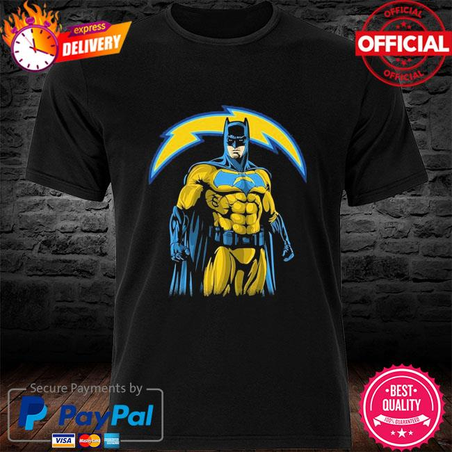 Los Angeles Chargers Batman Dc Marvel Jersey Superhero Avenger shirt