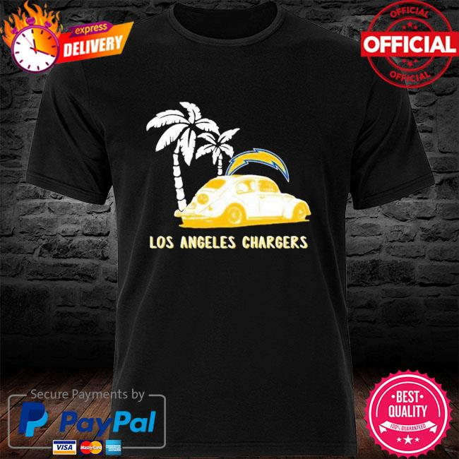 Los Angeles Chargers Beetle Car Shirt