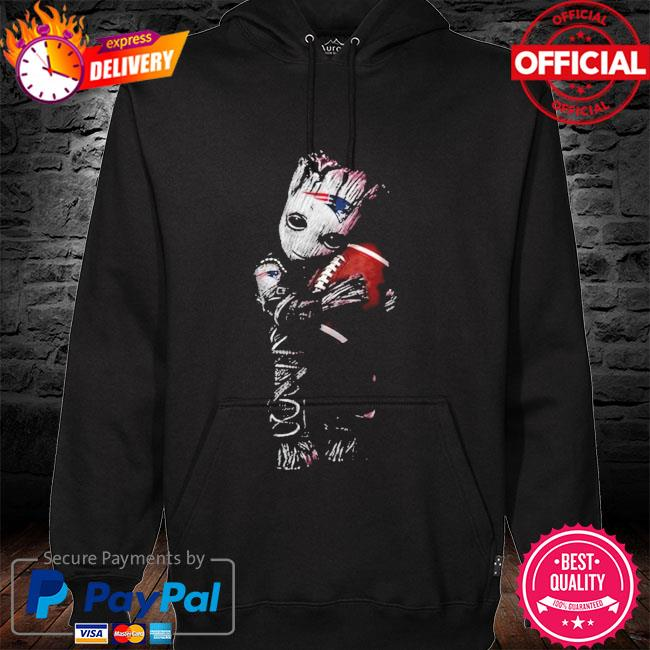 New England Patriots Baby Groot Loves New England Patriots Shirt hoodie