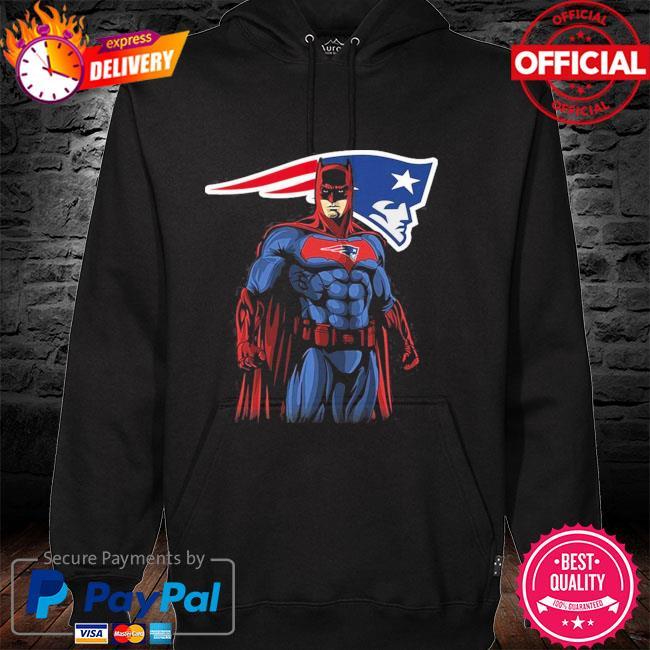 New England Patriots Batman Dc Marvel Jersey Superhero Avenger hoodie