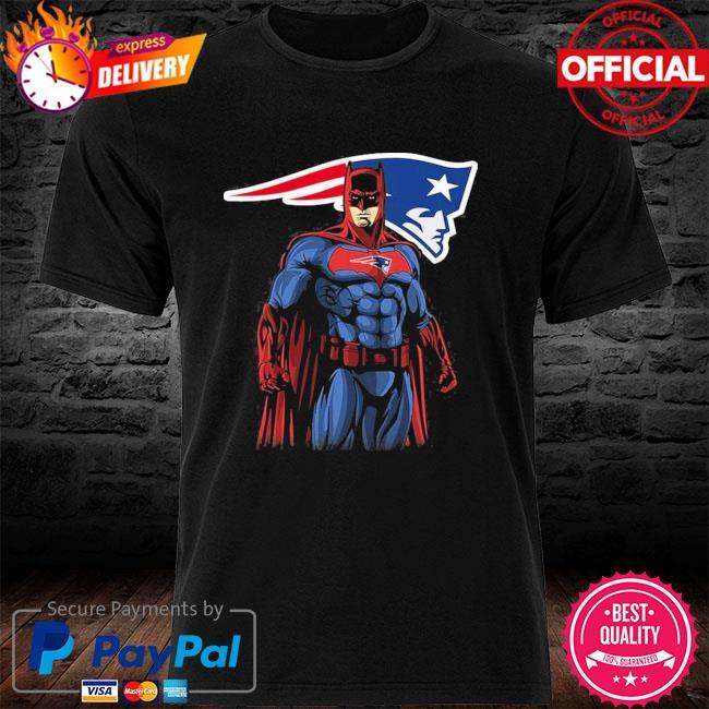 New England Patriots Batman Dc Marvel Jersey Superhero Avenger shirt