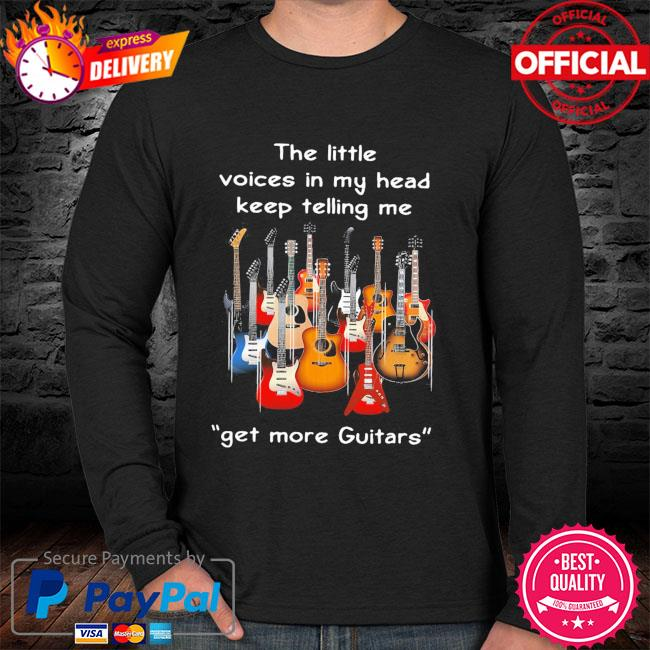 Voice of My Soul Guitar T-shirt
