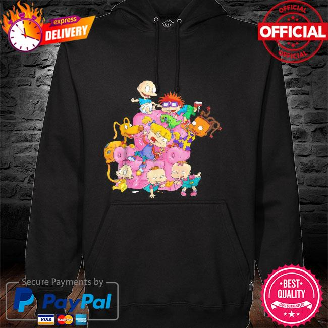 The rugrats group couch hoodie