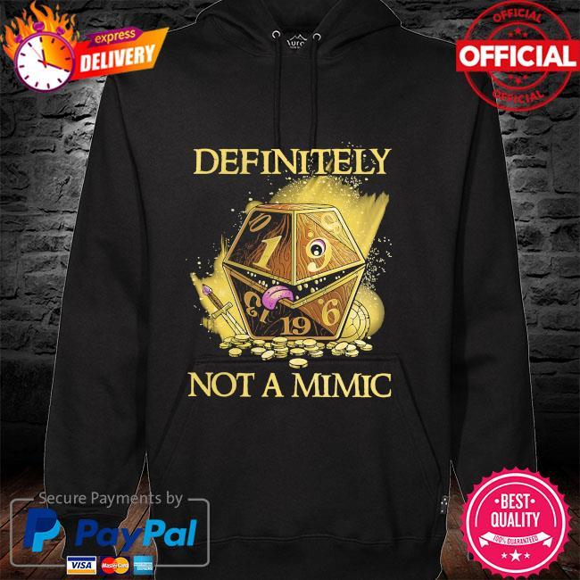 Definitely not a mimic hoodie