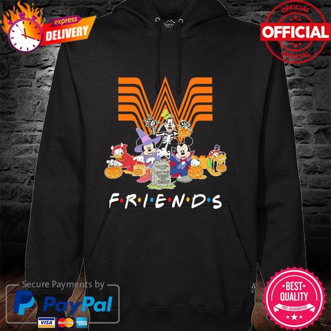 DIsney Characters Halloween Whataburger friends hoodie