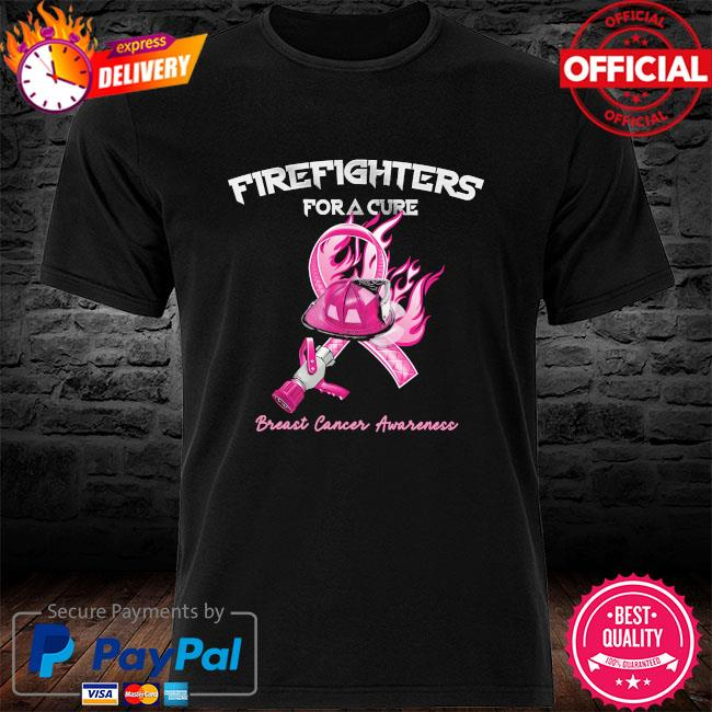 Firefighters For A Cure Breast Cancer Awareness Shirt Masswerks Store