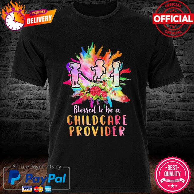 Funny Children Blessed To Be A Childcare Provider Shirt