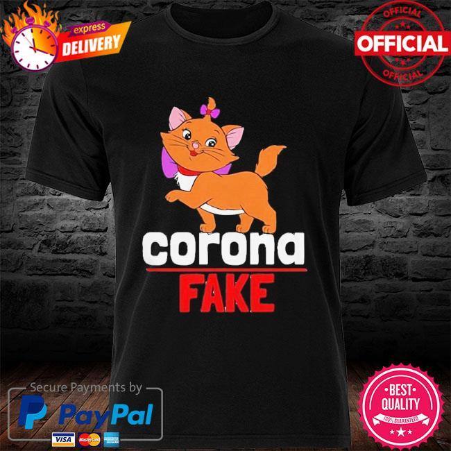 Premium Cute Cat Kitty Corona Fake Shirt