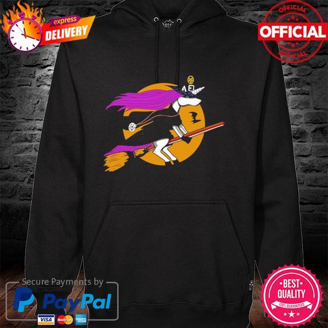 Unicorn Witch Halloween hoodie