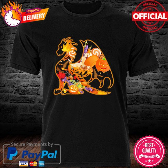 Dragon And Pumpkin Halloween 2021 Shirt Masswerks Store