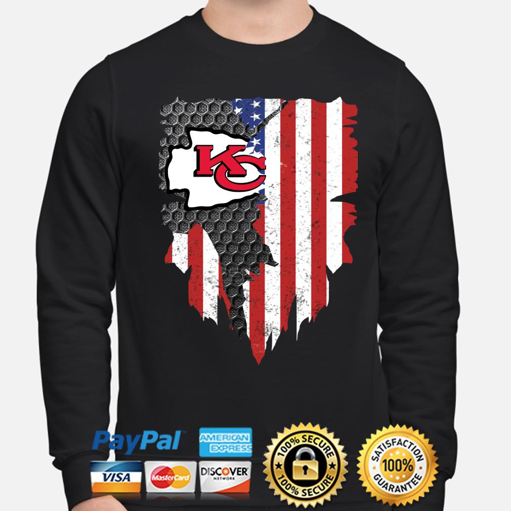 Kansas City Chiefs Watching With Daddy Toddler Long Sleeve T-Shirt